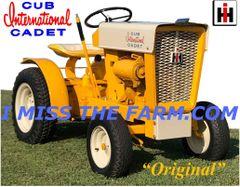 CUB CADET ORIGINAL (image #2) MOUSEPAD