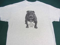 "AVERY BULL DOG ""TEETH TALK"" TEE SHIRT"
