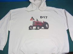 ALLIS CHALMERS D17 HOODED SWEATSHIRT