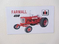 FARMALL 450 WF Fridge/toolbox magnet