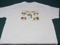 MINNEAPOLIS MOLINE FARM TRACTORS TEE SHIRT