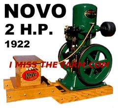 NOVO 2 HP ENGINE TEE SHIRT