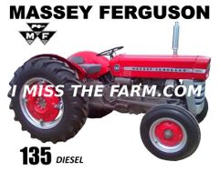 MASSEY FERGUSON 135 DIESEL W/STACK COFFEE MUG