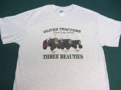 OLIVER RC THREE BEAUTIES (IMAGE #2) TEE SHIRT