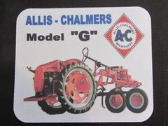 ALLIS CHALMERS G MOUSEPAD