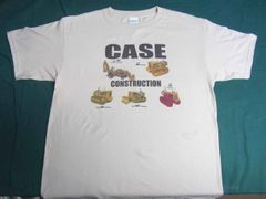 CASE CONSTRUCTION TEE SHIRT