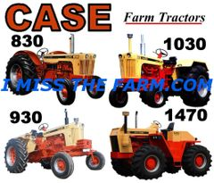 CASE FARM TRACTORS (image #2) TEE SHIRT