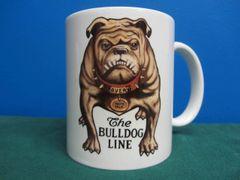 AVERY TRACTOR'S BULL DOG LOGO (BROWN) COFFEE MUG