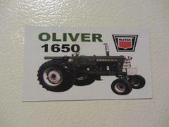 OLIVER 1650 Fridge/toolbox magnet