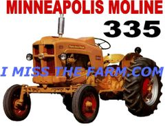 MINNEAPOLIS MOLINE 335 COFFEE MUG