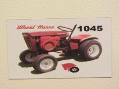 WHEEL HORSE 1045 Fridge/toolbox magnet