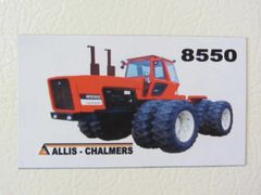 ALLIS CHALMERS 8550 Fridge/toolbox magnet