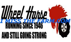 "WHEEL HORSE ""RUNNING SINCE 1946"" HOODED SWEATSHIRT"