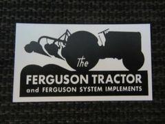 FERGUSON TRACTOR LOGO Fridge/toolbox magnet