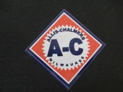 ALLIS CHALMERS DIAMOND LOGO Bumper sticker