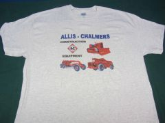 ALLIS CHALMERS CONSTRUCTION EQPT. TEE SHIRT