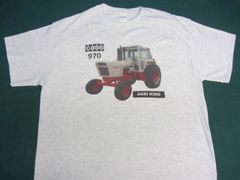 CASE 970 (WHITE WITH CAB) TEE SHIRT