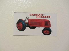 GRAHAM BRADLEY NF Fridge/toolbox magnet