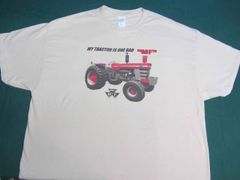 "MASSEY FERGUSON 1100 ""MY TRACTOR IS ONE BAD MF"" TEE SHIRT"