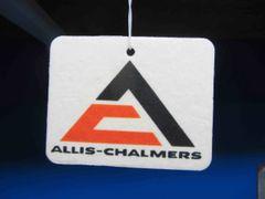 ALLIS CHALMERS TRIANGLE LOGO AIR FRESHENER