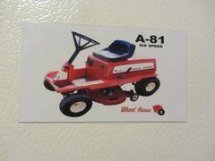 WHEEL HORSE A-81 Fridge/toolbox magnet