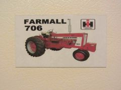 FARMALL 706 NF Fridge/toolbox magnet