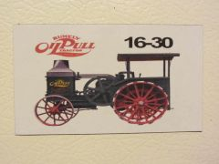 RUMELY 16-30 Fridge/toolbox magnet