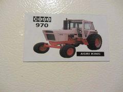 CASE 970 (W/CAB) Fridge/toolbox magnet