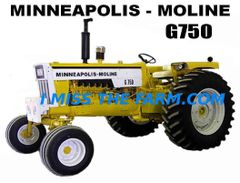 MINNEAPOLIS MOLINE G750 TEE SHIRT