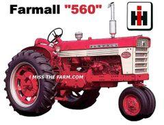 FARMALL 560 KEYCHAIN