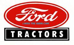 FORD TRACTORS LOGO SWEATSHIRT