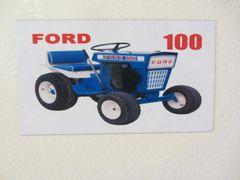FORD 100 Fridge/toolbox magnet
