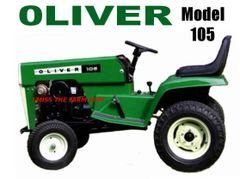 OLIVER 105 Garden Tractor Tee Shirt