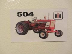 FARMALL 504 Fridge/toolbox magnet
