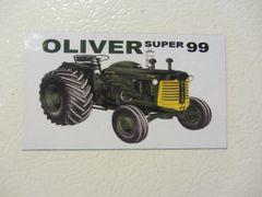 OLIVER SUPER 99 Fridge/toolbox magnet