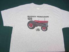 MASSEY FERGUSON 135 W/STACK TEE SHIRT