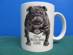 AVERY TRACTOR'S BULL DOG LOGO (TEETH TALK) COFFEE MUG