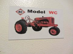 ALLIS CHALMERS WC Fridge/toolbox magnet