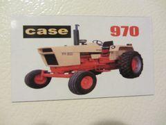 CASE 970 Fridge/toolbox magnet