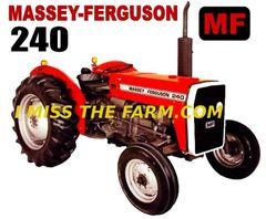 MASSEY FERGUSON 240 COFFEE MUG