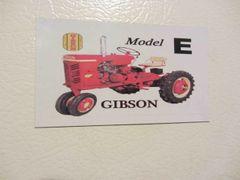 GIBSON MODEL E Fridge/toolbox magnet