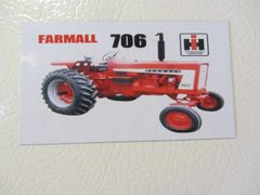 FARMALL 706 Fridge/toolbox magnet