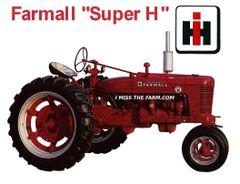 FARMALL SUPER H SWEATSHIRT