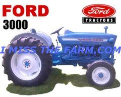 FORD 3000 (IMAGE #2) TEE SHIRT