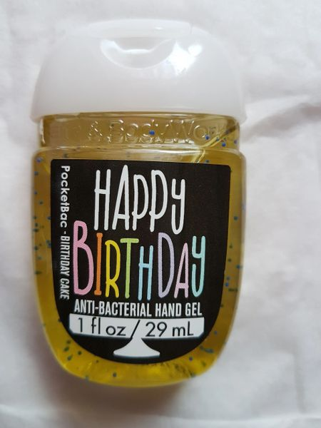 Bath Body Works Happy Birthday Pocket Bac Hand Sanitizer