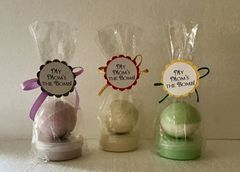 Hey Mom's Enjoy A Bath Bomb Along With Our Famous Whipped Body Souffle