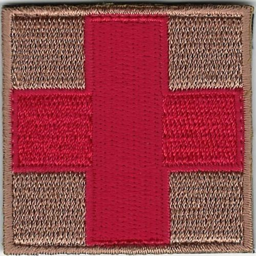 """2"""" Red Cross Patch"""