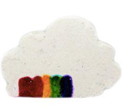 Over The Rainbow Cloud Colour-Streaming Bath Bomb