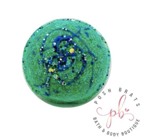 Mermaids Love Glitter Fizzy Bath Bomb