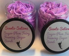 Sugar Plum Fairy Foaming Sugar Scrub